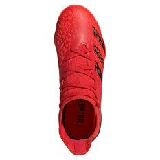 adidas Predator Freak .3 Kids Indoor Soccer Shoes, Red, rebel_hi-res