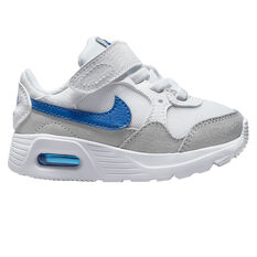 Nike Air Max SC Toddlers Shoes White/Blue US 4, White/Blue, rebel_hi-res