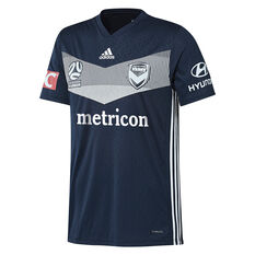 Melbourne Victory 2018 / 19 Mens Home Jersey Navy S, Navy, rebel_hi-res