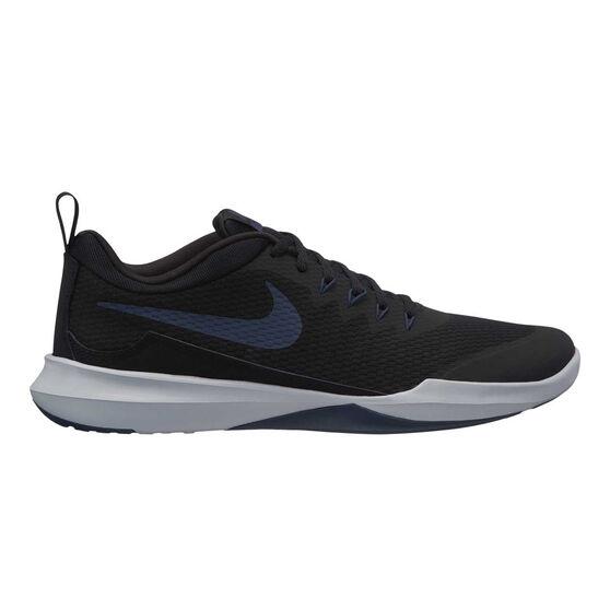 Nike Legend Trainer Mens Training Shoes, Black / Blue, rebel_hi-res