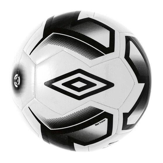 Umbro Neo Team Trainer Soccer Ball, White / Black, rebel_hi-res
