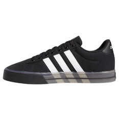 adidas Daily 3.0 Mens Casual Shoes Black/White US 7, Black/White, rebel_hi-res