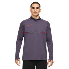 Nike Mens Dri-FIT Academy 21 Soccer Drill Top Purple S, Purple, rebel_hi-res