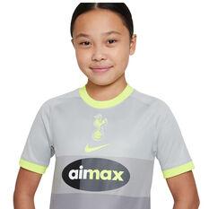 Tottenham Hotspur 2020/21 Kids Air Max 4th Jersey, Grey, rebel_hi-res