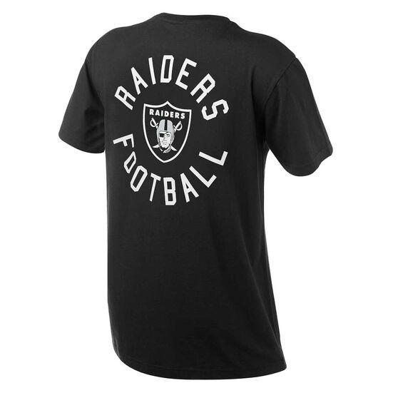 Oakland Raiders Mens Drimer Tee Black S, Black, rebel_hi-res