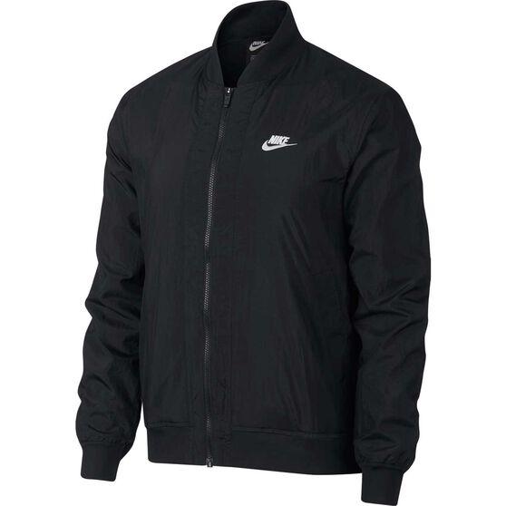 Nike Mens Sportswear Woven Jacket, Black, rebel_hi-res