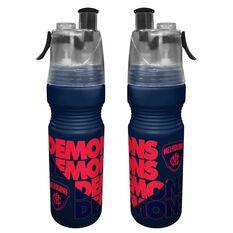 Melbourne Demons Misting Drink Bottle 700ml, , rebel_hi-res