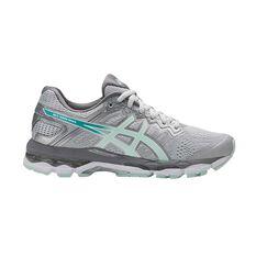Asics Gel Superion Womens Running Shoes Grey / Green US 6, Grey / Green, rebel_hi-res