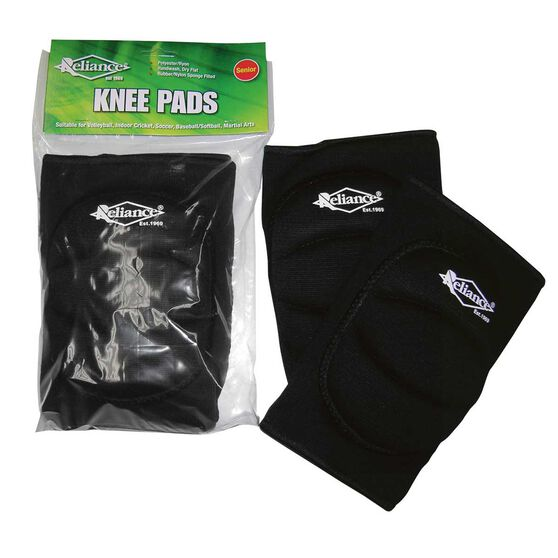 Reliance Knee Pads, Black, rebel_hi-res