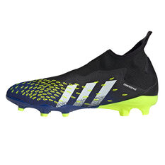adidas Predator Freak .3 Laceless Football Boots Black US Mens 7 / Womens 8, Black, rebel_hi-res