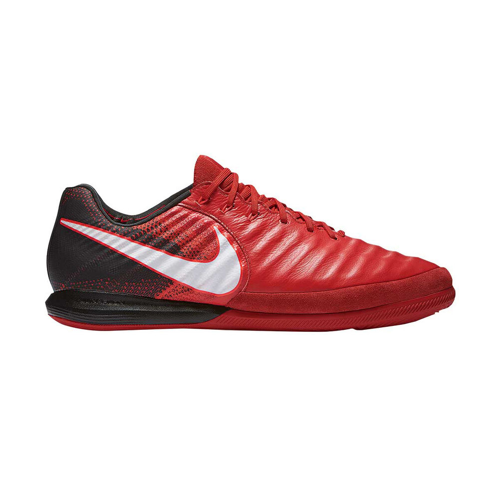 01bf92beaa6d Nike TiempoX Proximo II Mens Indoor Soccer Shoes Red   White US 10 Adult