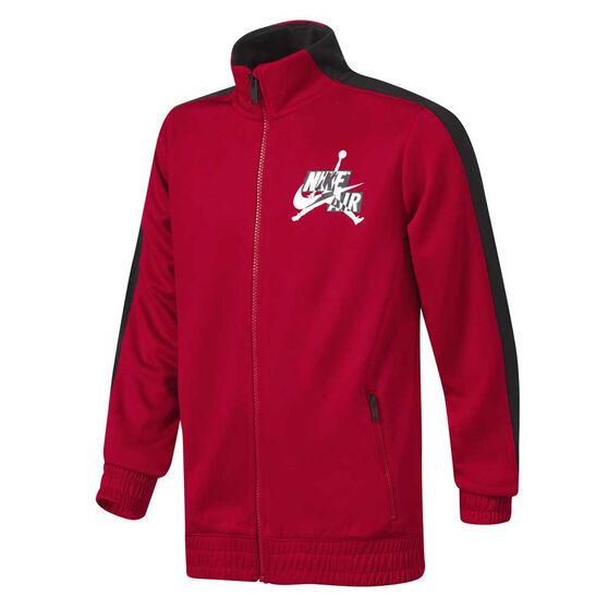 Nike Boys Jordan Jumpman Classics III Jacket Red/Black M, , rebel_hi-res