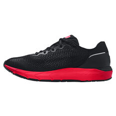 Under Armour HOVR Sonic 4 Colourshift Mens Running Shoes Black/Red US 7, Black/Red, rebel_hi-res