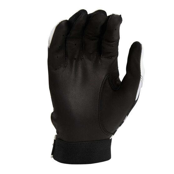 Rawlings Adult Batting Gloves, Grey / Black, rebel_hi-res