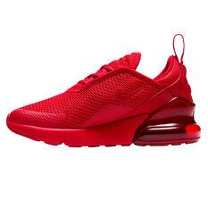 Nike Air Max 270 Kids Casual Shoes Red/Black US 11, Red/Black, rebel_hi-res