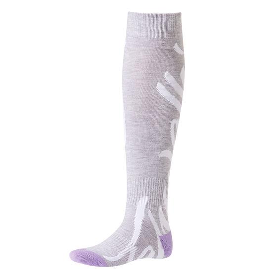 Tahwalhi Womens Logo Ski Socks, , rebel_hi-res