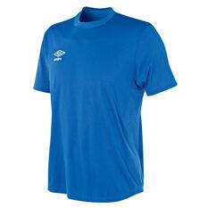 Umbro Mens League Knit Jersey Blue S, Blue, rebel_hi-res