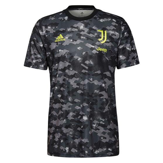 Juventus FC 2021/22 Mens Pre-Match Jersey, Black, rebel_hi-res