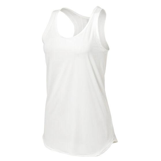 adidas Womens Karlie Kloss Run Tank, White, rebel_hi-res