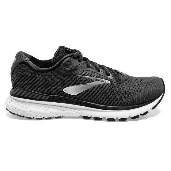 Brooks Adrenaline GTS 20 Womens Running Shoes, Black / Grey, rebel_hi-res