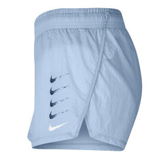 Nike Womens Swoosh Run Shorts Blue XS, Blue, rebel_hi-res