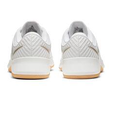 Nike MC Trainer Womens Training Shoes, White/Gold, rebel_hi-res