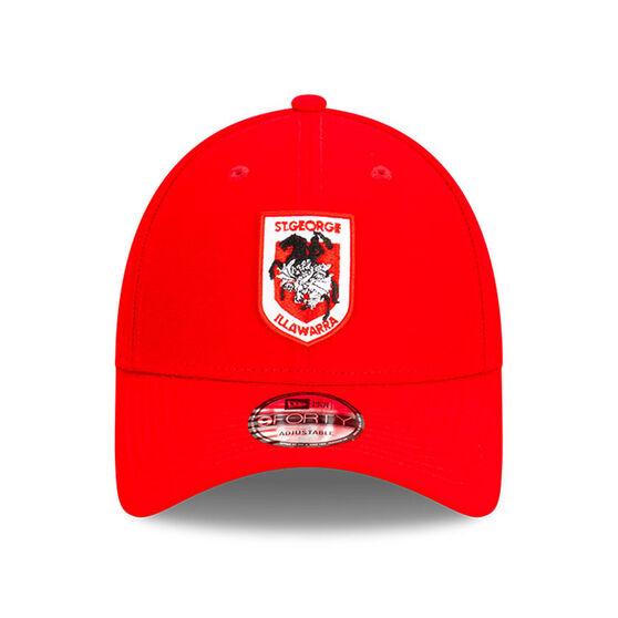 St George Illawarra Dragons New Era Authentic Core 9FORTY Cap, , rebel_hi-res