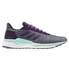580e9b91836ef adidas Solar Drive ST Womens Running Shoes Green   Purple US 6