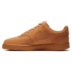 Nike Court Vision Low Mens Casual Shoes Brown NS 7, Brown, rebel_hi-res