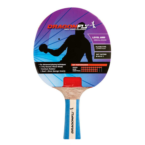 Dragonfly Competition 6000 Table Tennis Bat, , rebel_hi-res