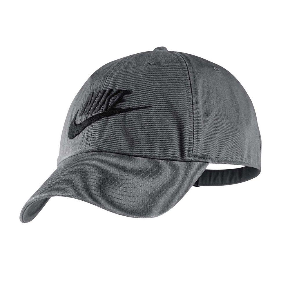 best service 2c395 3e811 Nike Futura Washed H86 Cap Dark Grey OSFA   Rebel Sport