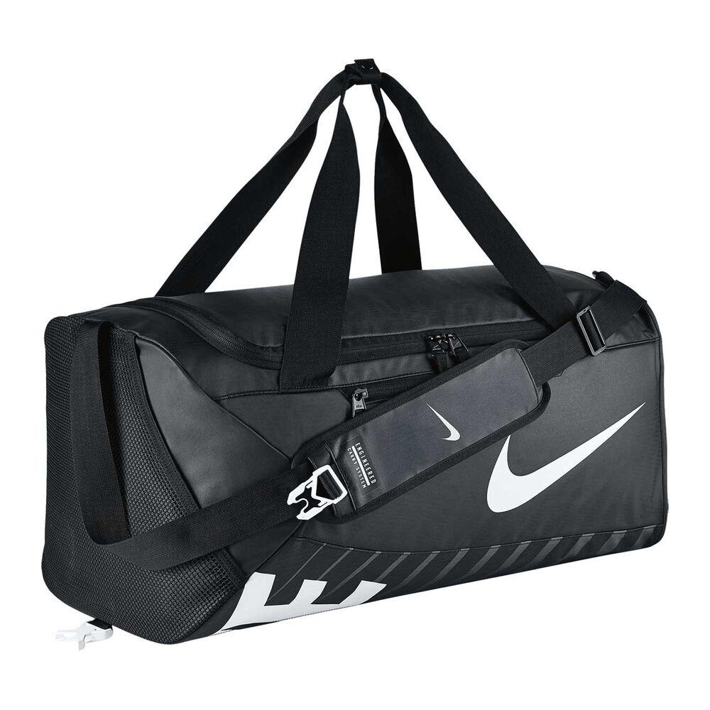 46eba9639b5e Nike Alpha Adapt Crossbody Duffel Black   White