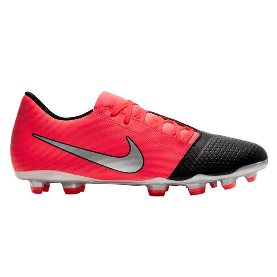 Nike Phantom Venom Club Football Boots, Black / Red, rebel_hi-res