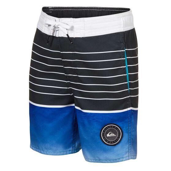 Quiksilver Toddler Boys Swell Vision Board Shorts, Blue, rebel_hi-res