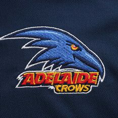 Adelaide Crows 2020 Mens Performance Polo, Navy, rebel_hi-res