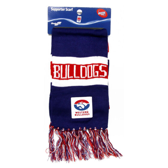 AFL Western Bulldogs Supporter Scarf, , rebel_hi-res