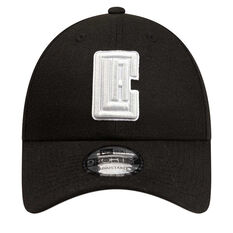Los Angeles Clippers New Era 9FORTY Black Cloud Cap, , rebel_hi-res