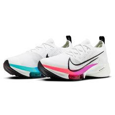 Nike Air Zoom Tempo Next% Mens Running Shoes, White/Crimson, rebel_hi-res