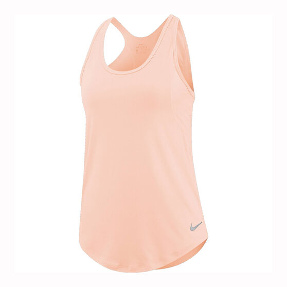 Nike Womens 10K Running Tank, Pink, rebel_hi-res