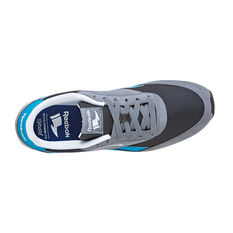 Reebok Royal CL Jogger Mens Casual Shoes Grey / Blue US 7, Grey / Blue, rebel_hi-res