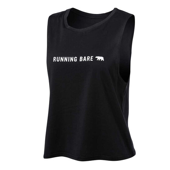 Running Bare Womens Crop it Like Its Hot Cropped Tank, , rebel_hi-res
