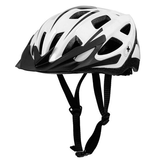 Goldcross Defender Bike Helmet White / Silver M, , rebel_hi-res