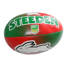 Gray Nicolls NRL South Sydney Rabbitohs Sponge Rugby Ball, , rebel_hi-res