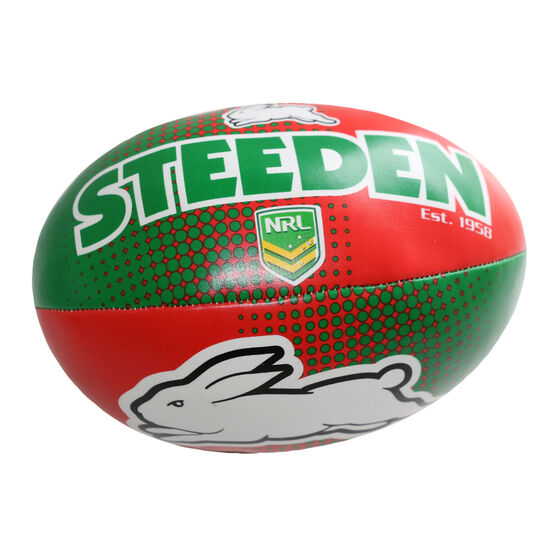 Gray Nicolls NRL South Sydney Rabbitohs Sponge Rugby Ball, , rebel_hi-res