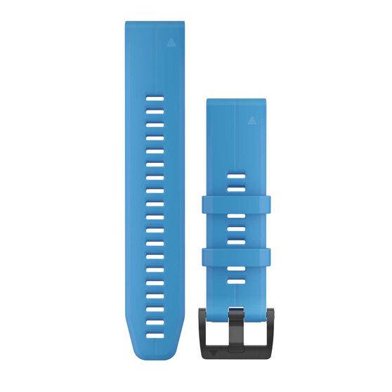 Garmin QuickFit 22mm Cyan Blue Adjustable Watch Band, , rebel_hi-res