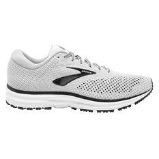 Brooks Revel 2 Mens Running Shoes White US 8, White, rebel_hi-res