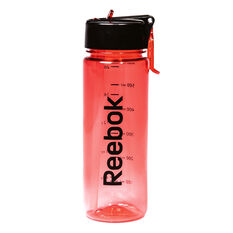 Reebok 650ml Water Bottle Red 650ml, Red, rebel_hi-res