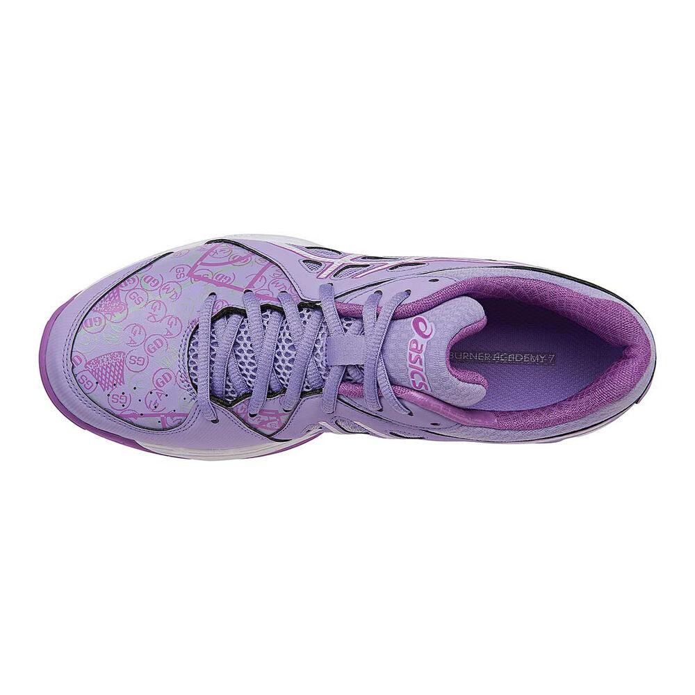Asics Gel Netburner Academy 7 Womens Netball Shoes Purple ...
