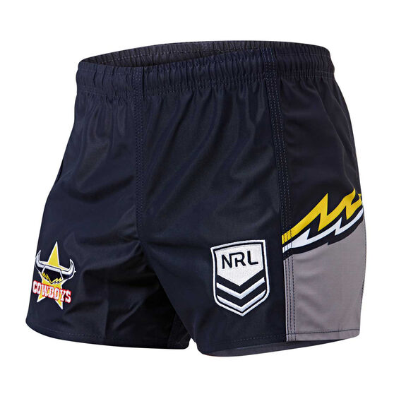 North Queensland Cowboys Mens Home Supporter Shorts, , rebel_hi-res