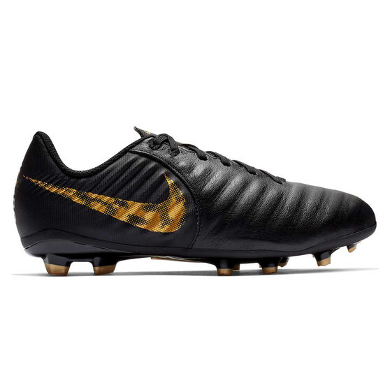 Nike Tiempo LegendX VII Academy Kids Football Boots Black / Gold US 2, Black / Gold, rebel_hi-res